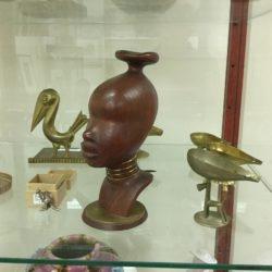 Rare Tico Teak Denmark 1950s African Nubian Bust