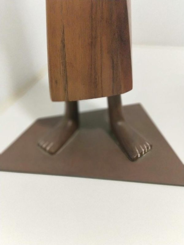 Rare and Large Hagenauer African standing woman