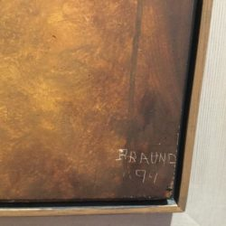 Dorothy Braund Modernist Masterpiece Museum / Gallery Painting Party 2, 1999, Stunning Provenance