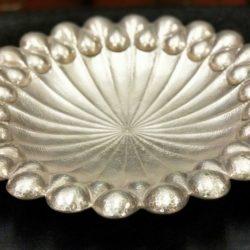 Wiener Werkstatte Style Art Deco Hungarian Silver Stylish Bowl