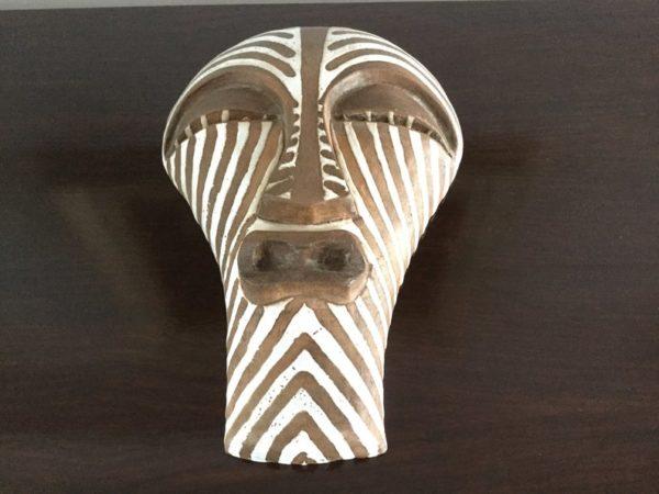 Ugo Zaccagnini Italy Tribal Wall Mask, Rare and Unique