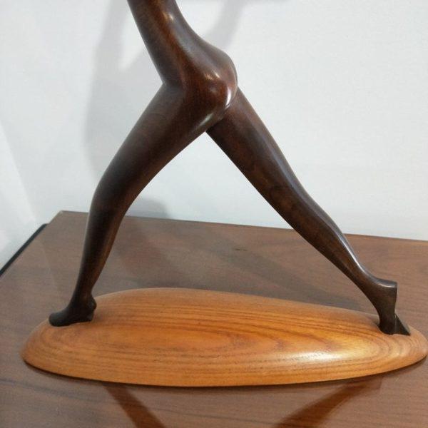 1950s Large Hagenauer Nude Dancer