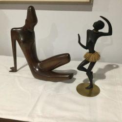 Rare Art Deco Hagenauer Prototype African Dancer